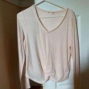 light pink long sleeve shirt from Aeropostale